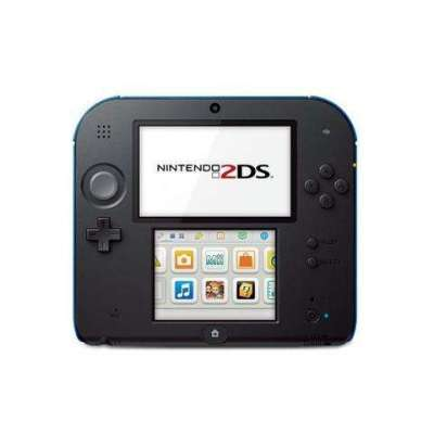 Nintendo 2DS Handheld Console (Black&Blue) With Super Mario Bros 2 Game