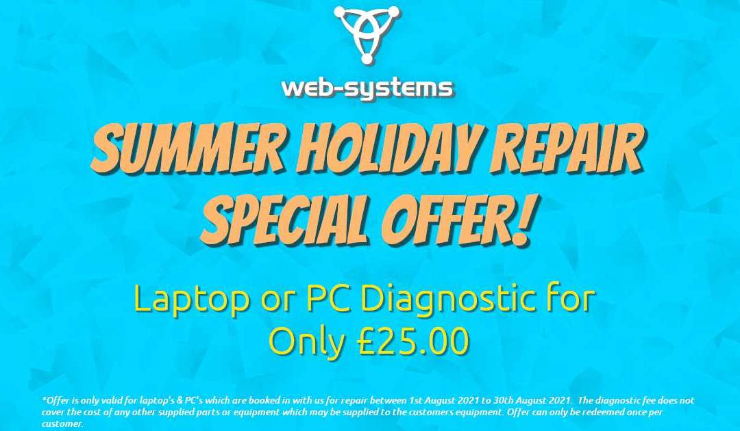 Summer Holiday Repairs Offer