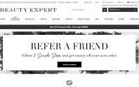Beauty expert website