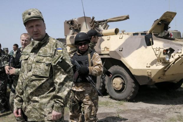 turcinov- vojska- ukrajina
