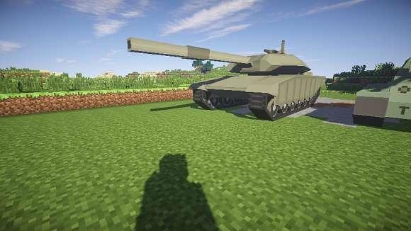 моды на танки для майнкрафт 1.7.10 #1