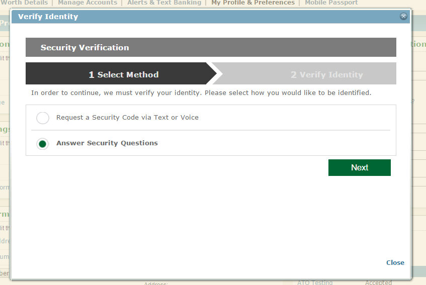 Private Security Questions