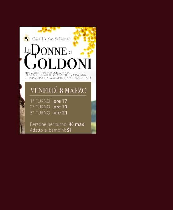 Le Donne di Goldoni