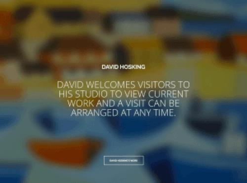 David Hosking Painter - Artsake Artist website