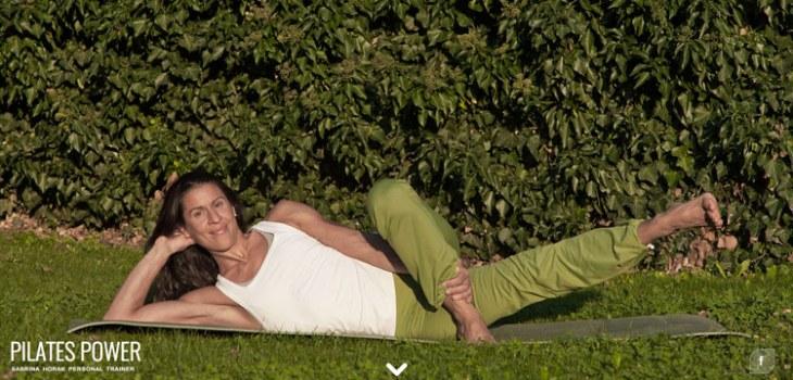 Sabrina Horak Pilates Power responsive ecommerce website