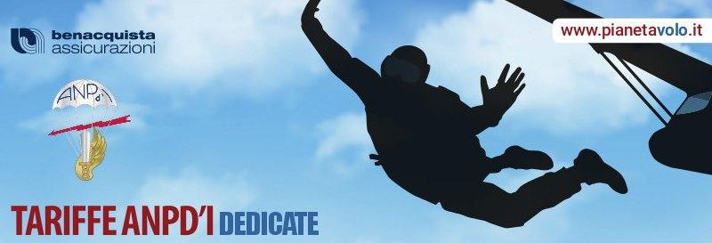 assicurazione anpdi paracadutismo
