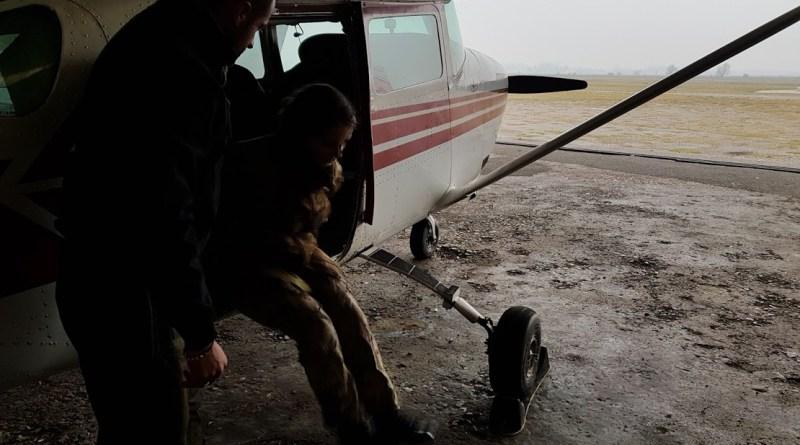 c206 prove uscita paracadutisti
