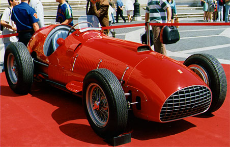 Ferrari 375 F1 - 1951 British GP