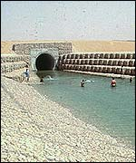 Great Manmade River canal