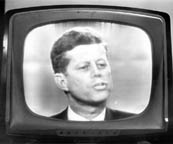 John Kennedy at the Presidential Debate (9kb)