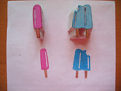 Popsicle Stamps
