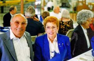 """Lifetime Membership"" members, Mr. and Mrs. Walter Kane"
