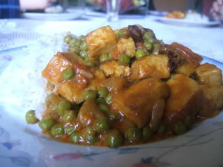 Mattar Paneer with Basmati Rice