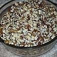 Medium sized black walnuts