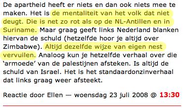 Lilian Marijnissen tolereert racisme