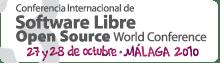 Open Source World Conference 2010, Málaga, 27-28 de octubre