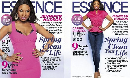 Jennifer Hudson on the April 2011 Issue of Essence Magazine