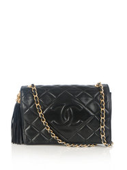 chanel vintage - Quilted flap bag