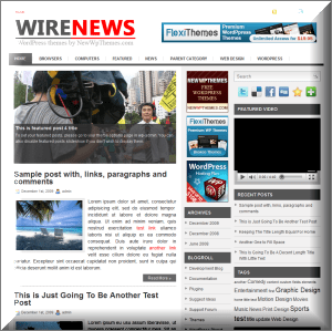 WireNews Magazine WordPress Theme