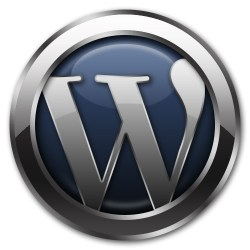 wordpress logo, blogging, how to select and install a wordpress theme,