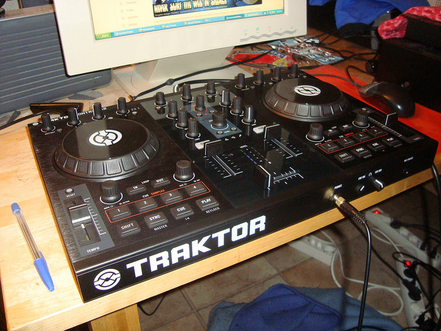 Native Instruments Traktor S2 DJ Midi Controller by sebilden on Flickr