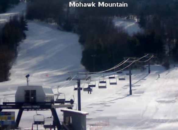 Mohawk Mountain ski lift