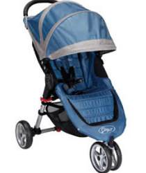 Baby Jogger City Mini Stroller Review - Blue/Gray