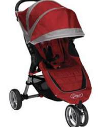 Baby Jogger City Mini Stroller Review- Crimson/Gray