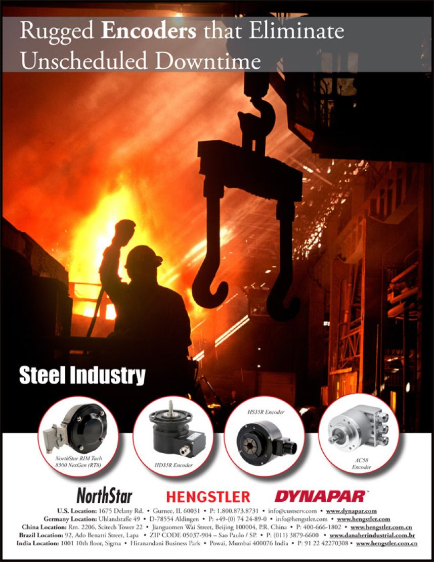 Steel Brochure Cover