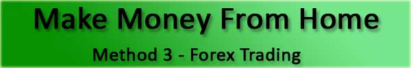 How To Make Money From Home with Forex Trading