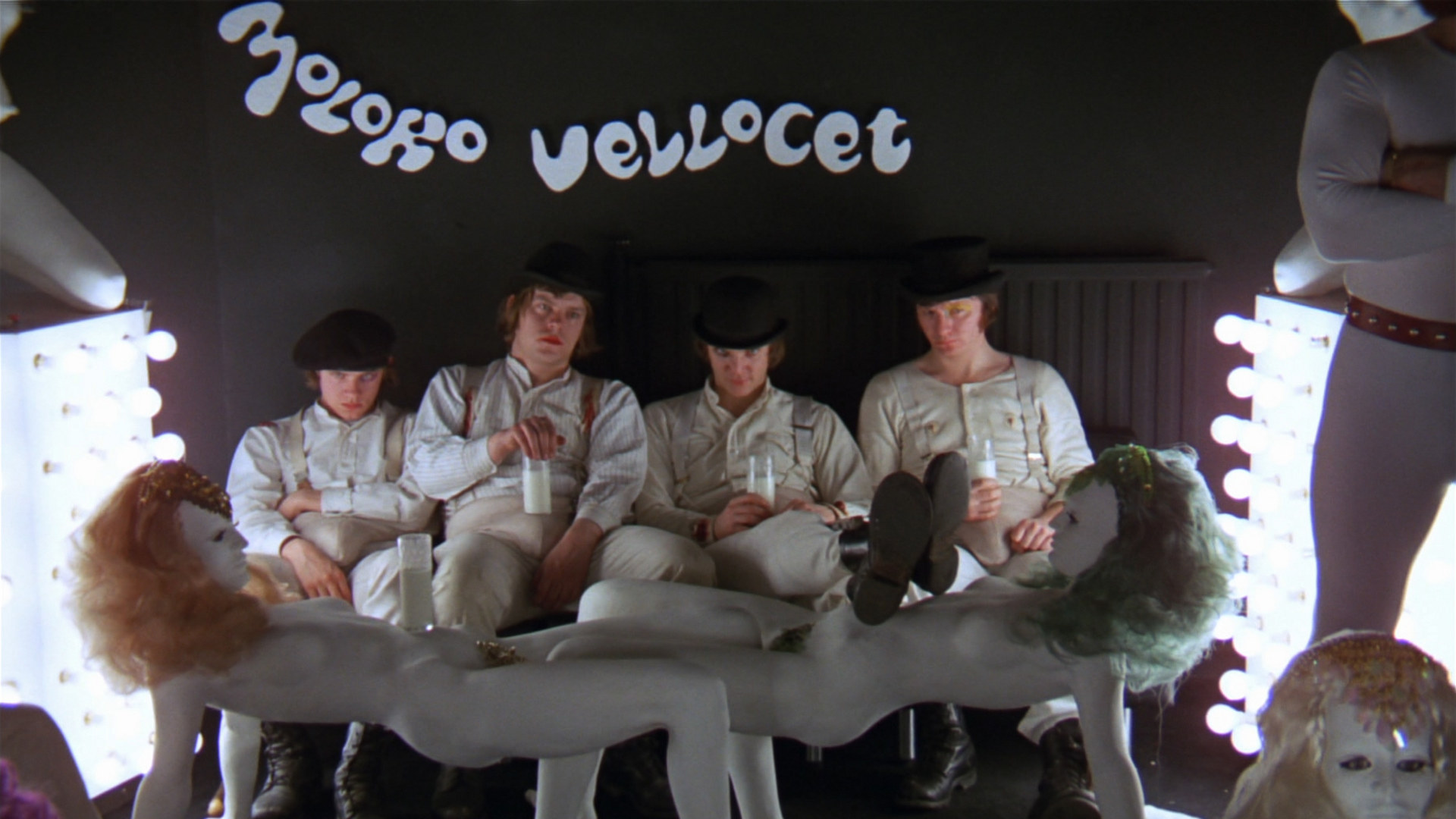 a clockwork orange opening scene