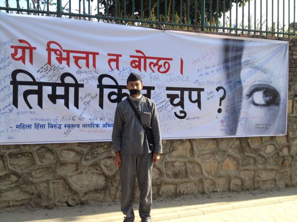 Join the Sit in at Baluwatar for Sita Rai and other Nepali women victims...