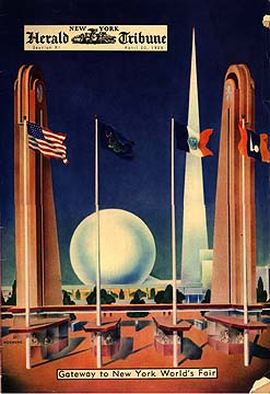 New York's World Fair -  From the 1939 NY Herald Tribune.