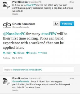 Twitter _ crunkfeminists_ @NosniborPC for many #tooFEW ...