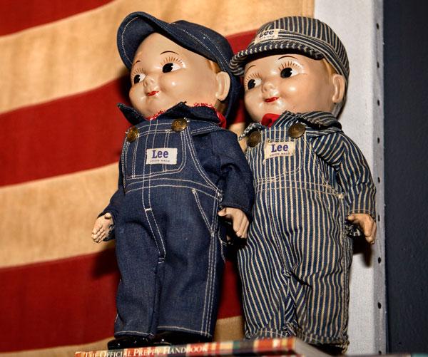 Buddy Lee dolls