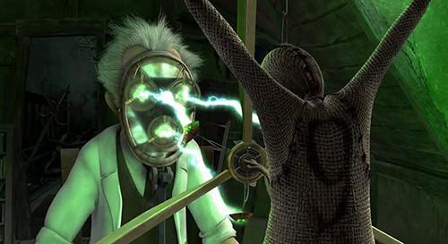 O cientista criando a 9, o último homnuclus tendo uma parte de sua alma.