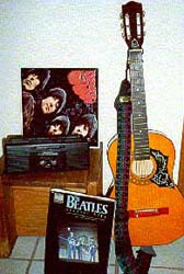 Adam's photograph of the Beatles