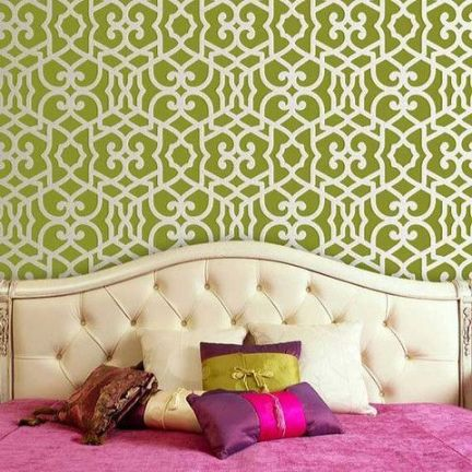 Choosing Cool Stencils for Your Walls - 12 Rules for Wall Stencils ...