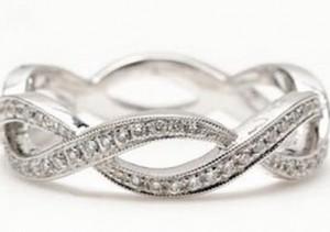 Model cincin kawin twisted band