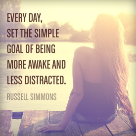 Every Day set the simple goal of being more awake and less distracted