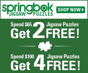 Spend $65, Get 2 Puzzles Free, or Spend $100, Get 4 Puzzles Free!