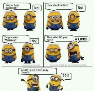 Candy Crush Minion Funny