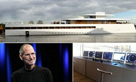 steve jobs yacht 19 Century Banker Lubbock Crippled Ancient History Science as Darwinian Paleo Stone Age! Why not Mega Stone Age?