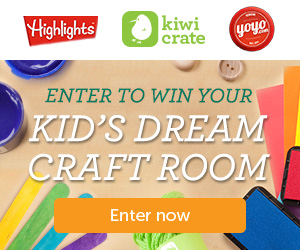 Enter to Win Your Kid's Dream Craft Room