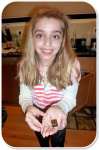 Alexa and her treasures
