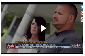 couple featured in TV story on meth contamination