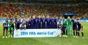 Oranje brons WK 2014
