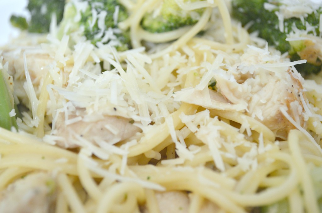 Chicken, Broccoli and Mushroom Pasta