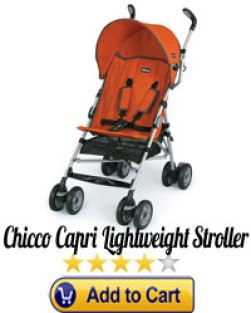 Chicco Capri Lightweight Stroller-optimized