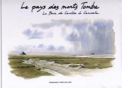 Eric Degive - livre aquarelles Normandie Terre des Arts- le pays des monts tombe, la baie, de carolles à cancale